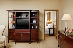 Book a Standard Turret Suite at the Anaheim Majestic Garden Hotel
