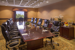 Hotel conference rooms here at the Anaheim Majestic Garden Hotel