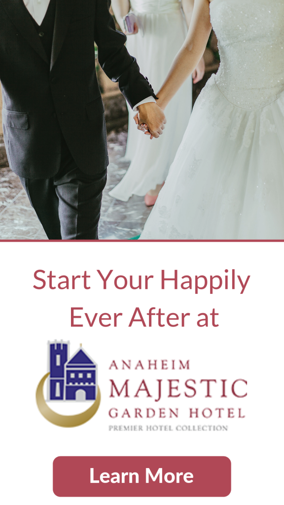 Learn more about weddings at Anaheim Majestic Garden Hotel